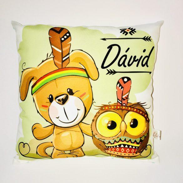 Dávid neves párna