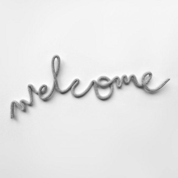 Welcome felirat