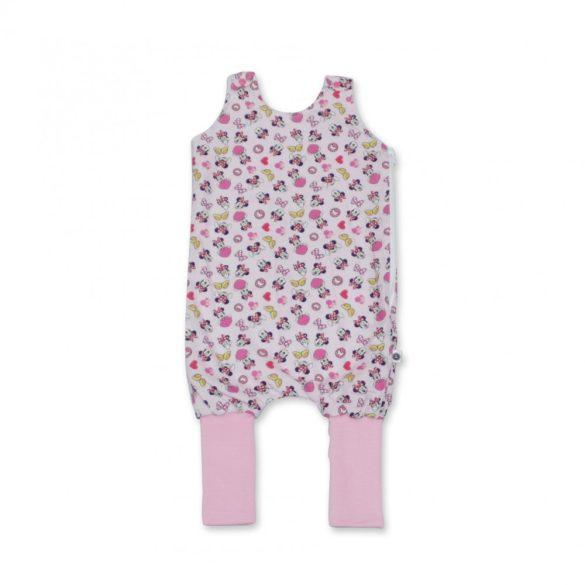 Rózsaszín Minnie átmeneti tipegő zsák 1-es méret 12-18 hó