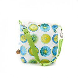 Neria türkizkék táska