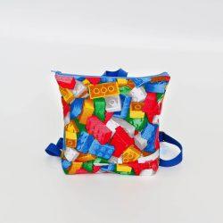 Lego kék hátitáska