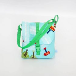 City zöld 2in1 táska