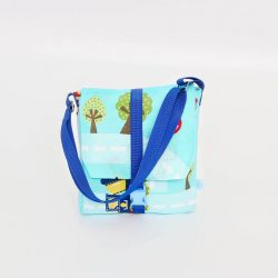 City kék 2in1 táska