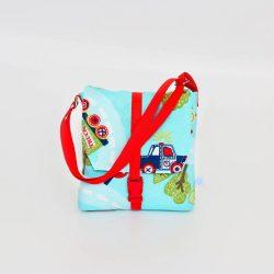 City piros 2in1 táska