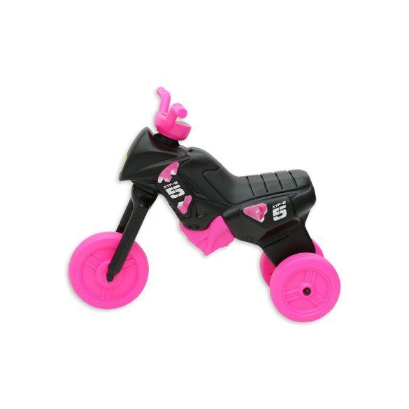Fekete-pink nagymotor