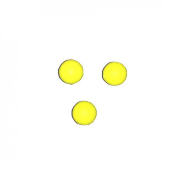 Citromsárga szilikongyöngy