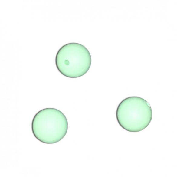 Halványzöld szilikongyöngy