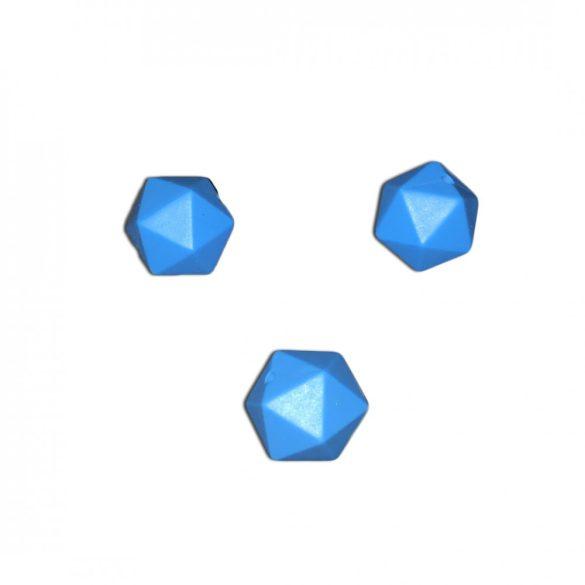 Kék extra szilikongyöngy