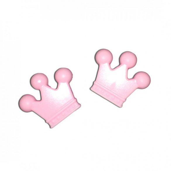 Pink szilikonkorona