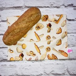 Szendvicstasak maxi méretben ekrü pékárus